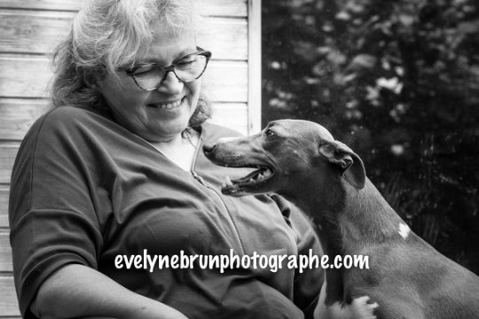 Evelyne Brun, photographe whippet